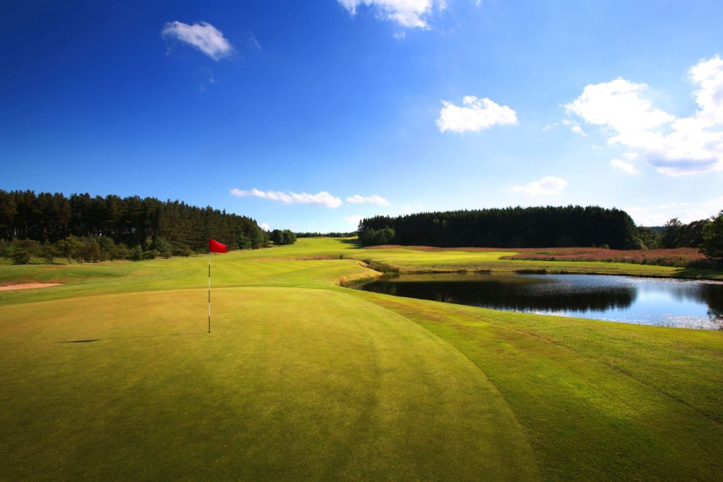 Q Hotels Slaley Hall - Priestman course 4th Hole