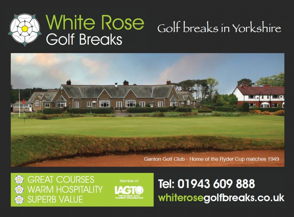 Golf Breaks in Yorkshire - Look no further than White Rose Golf Breaks where Peter will look after all your golf break requirements