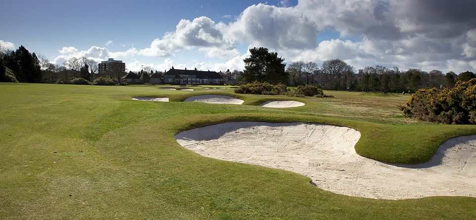 The stunning 18th Hole at Moortown Golf Club which played host to the 1929 Ryder Cup matches
