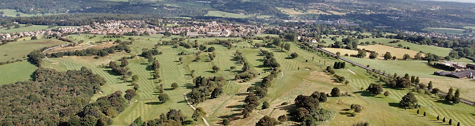 Woodhall Hills Golf Club West Yorkshire Aerial View