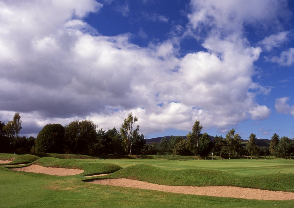 The 16th at Edzell Golf Course, one of Carnoustie Country's historic gems. Photo courtesy of www.carnoustiecountry.com