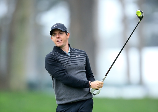 SAN FRANCISCO, CA - APRIL 28:  Rory McIlroy of Northern Ireland in action during the pro-am as a preview for the World Golf Championships - Cadillac Match Play held at Harding Park on April 28, 2015 in San Francisco, California.  (Photo by David Cannon/Getty Images)