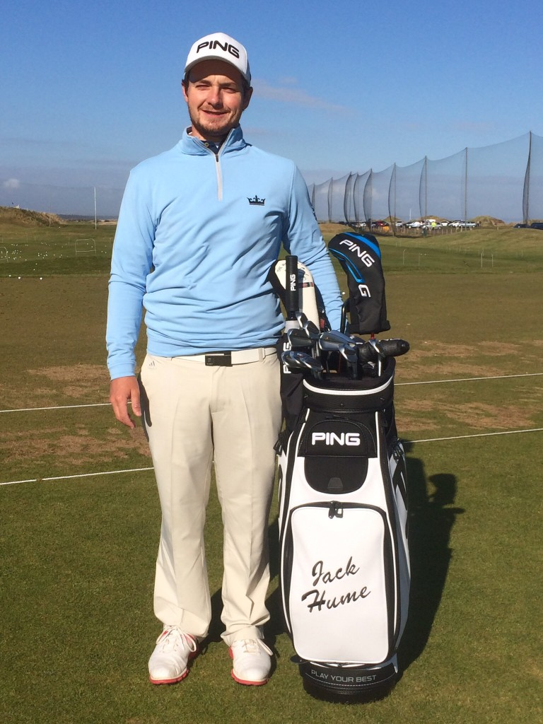 Jack Hume signs for PING