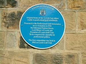 Leeds plaque