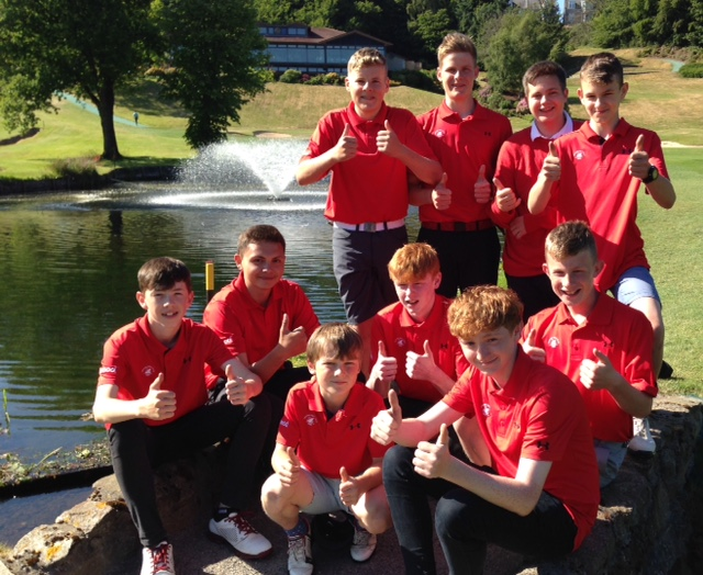 Aboyne Juniors Team vs Royal Aberdeen Golf Club