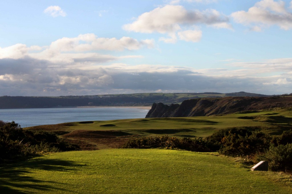 Pennard GC 16th tee1