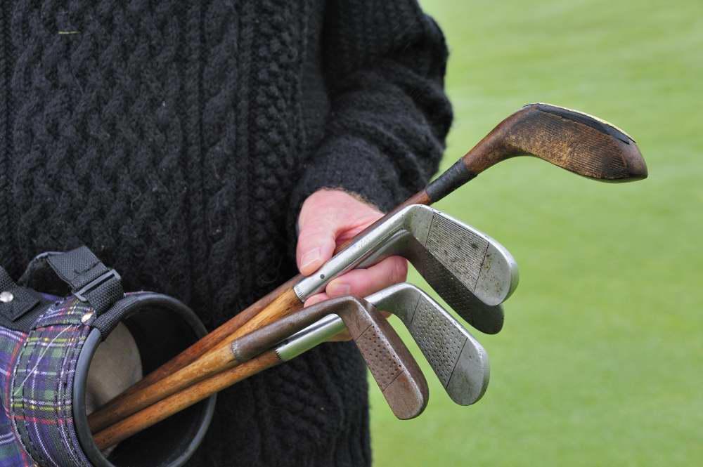 Muss Links D3-83715 - hickory clubs