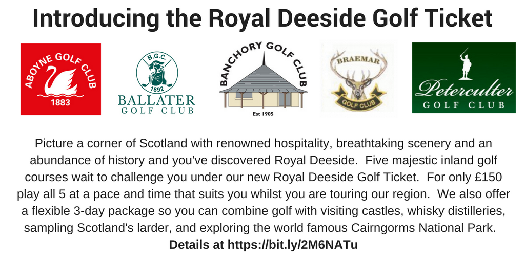 Royal Deeside Golf Ticket - 20Jun18