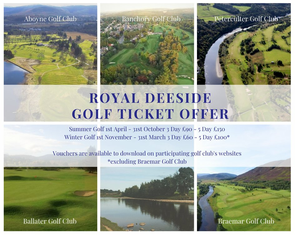 Royal Deeside Golf Ticket - Aug18