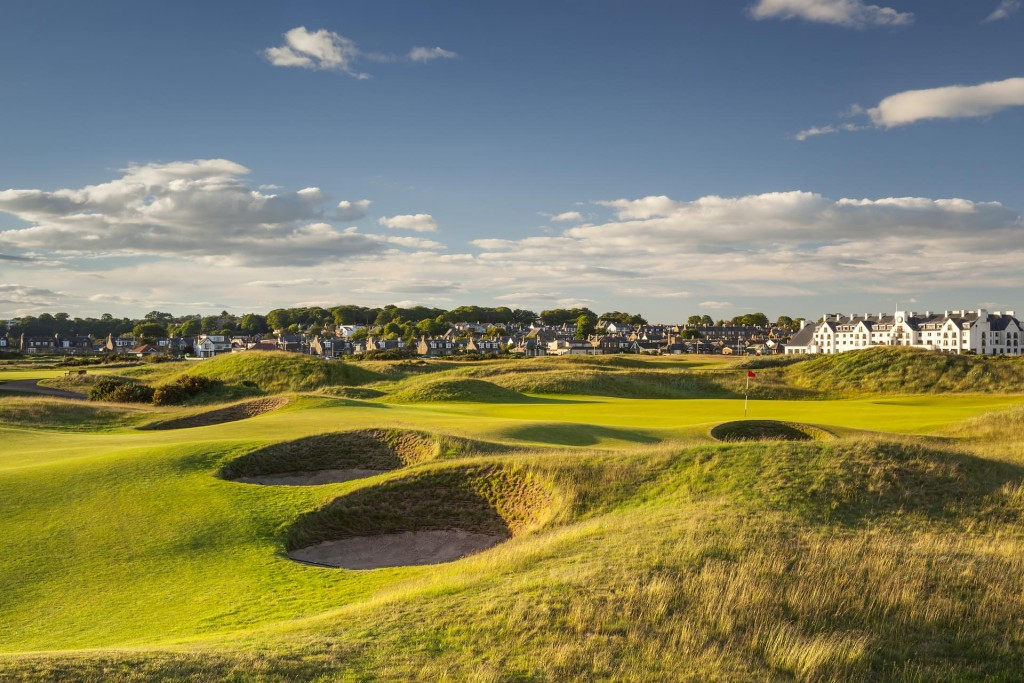 Carnoustie Golf Links - Championship Course. Credit Mark Alexander Golf Photography.