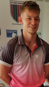 Luke Bartram (Rossendale GC), who has earned a place in the final of the Faldo Series