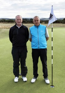 2018 Yorkshire Challenge winners Andrew Knowles and Paul Pethybridge, left.