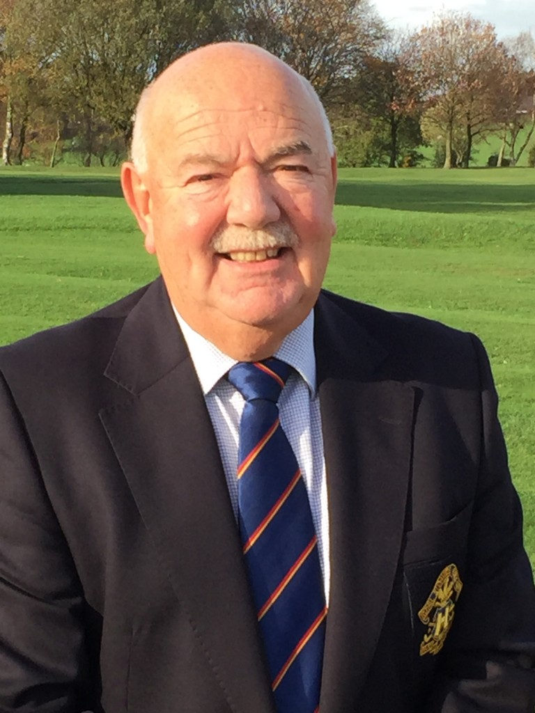 Norman Fletcher, who will become the Lancashire Union of Golf Clubs' new President in March 2019