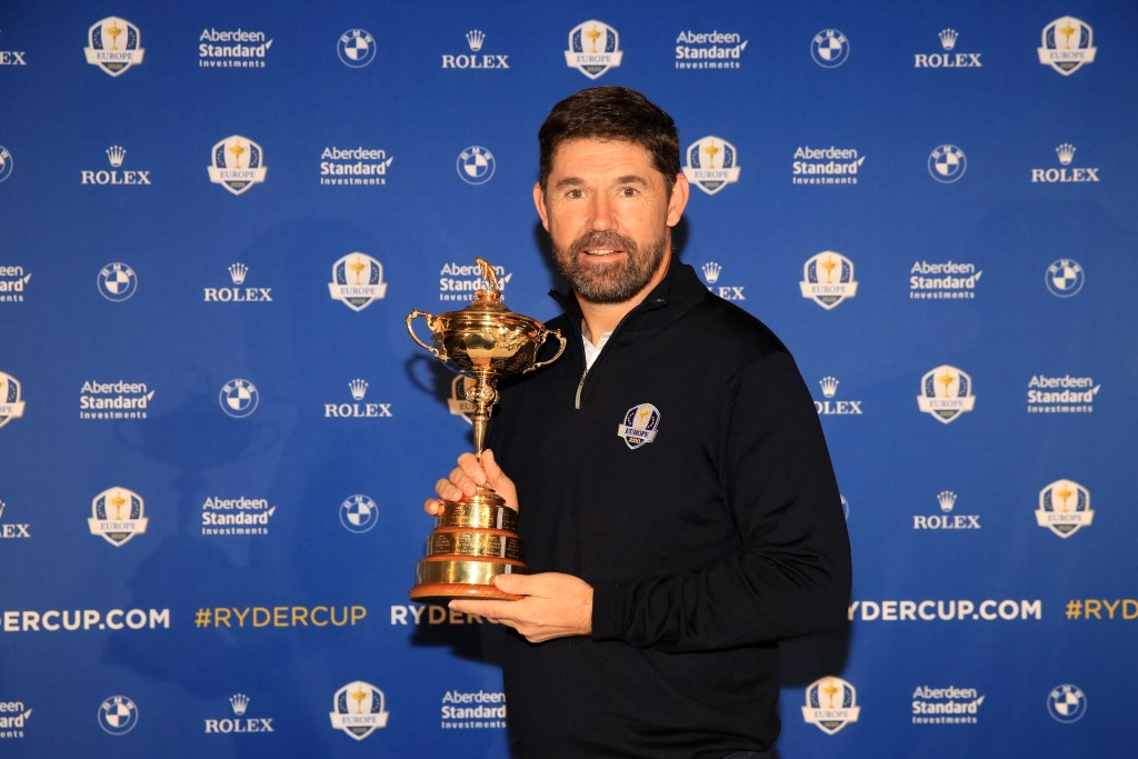 Ireland's Padraig Harrington will become the third European Tour winner from the Emerald Isle to captain Europe against America at Whistling Straits, in 2020 Picture by GETTY IMAGES