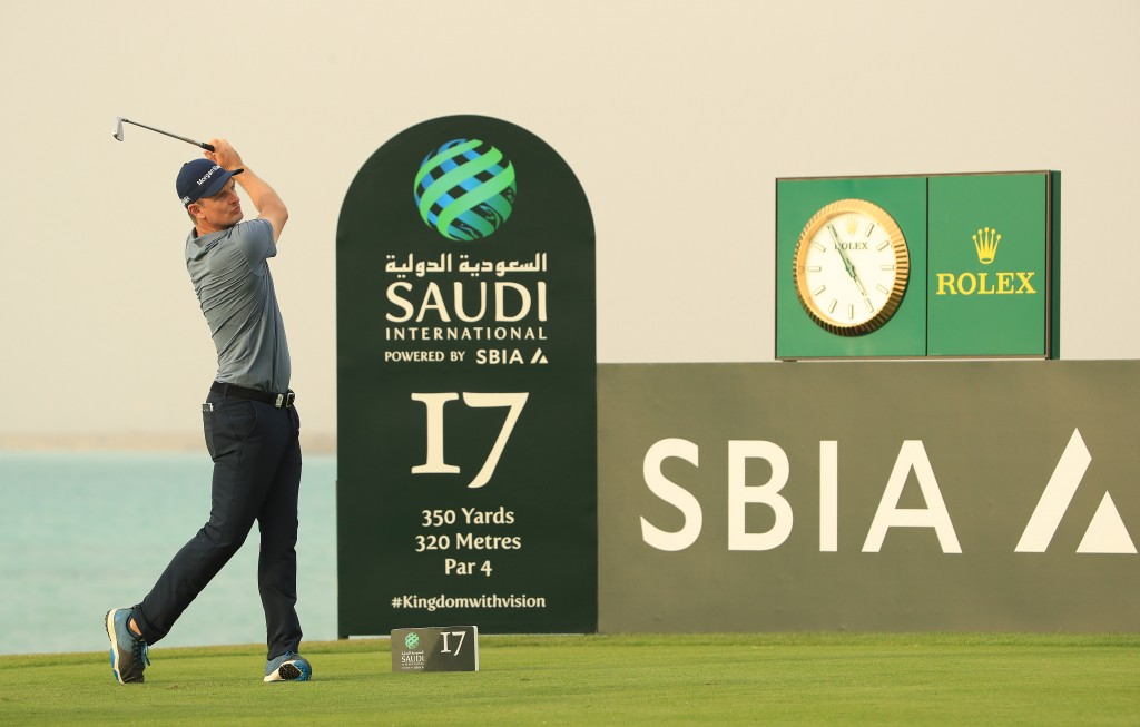 UNSPECIFIED, SAUDI ARABIA - JANUARY 30:  during Day XX of the Saudi International at [Venue] on January 30, 2019 in King Abdullah Economic City, Saudi Arabia. (Photo by Andrew Redington/WME IMG/WME IMG via Getty Images )