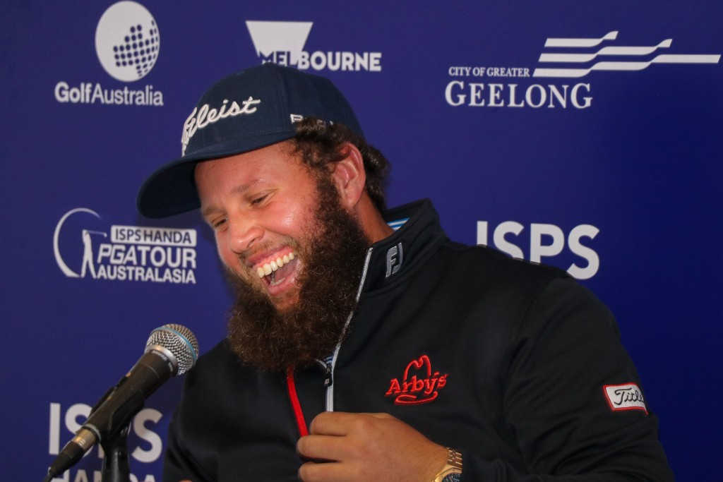"Andrew ""Beef"" Johnston feels right at home Down Under and is hoping for a strong showing at the ISPS Handa Vic Open. Picture by GOLF AUSTRALIA"