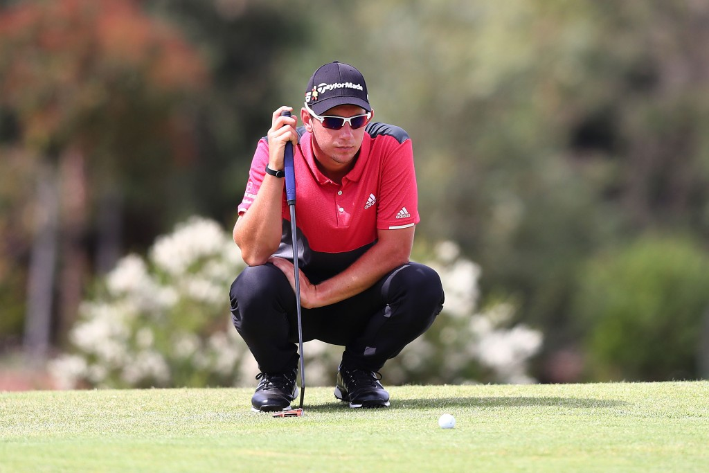 Australian Lucas Herbert is hoping to improve on his rookie season on the European Tour by winning his maiden event in his back yard on the outskirts of Melbourne at the 13th Beach Golf Club. Picture by GETTY IMAGES