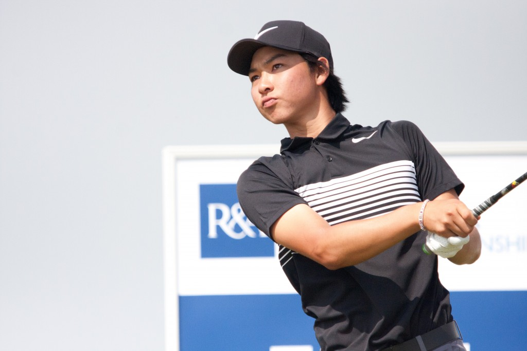 Australia's Min Woo Lee at the 2017 Amateur Championship at Royal St George's. Picture by ANDREW GRIFFIN