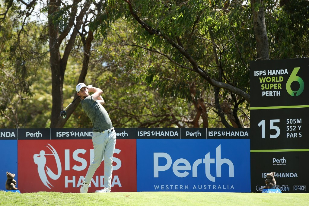 World Cup winner Thomas Pieters thinks similarities between the ISPS Handa World Super 6 Perth and the Belgian Knockout he hosts will help him. Picture by GETTY IMAGES