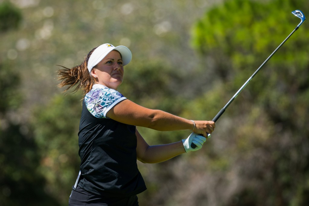 Sweden's Lina Boqvist shares the first round lead in the Investec SA Women's Open after an opening one-under-par 71 at Westlake Golf Club. Picture by TRISTAN JONES