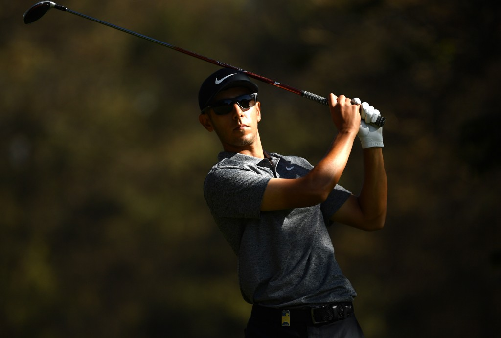 Former Hampshire Boys Champion Jack Singh Brar who led the Magical Kenya Open after round one thanks to a superb seven-under 64 at Karen Country Club, in Nairobi. Picture by GETTY IMAGES