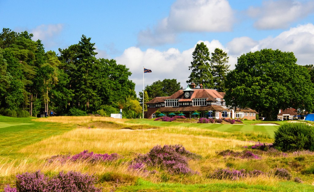 he majestic Sunningdale clubhouse where the 2020 Senior Open will be hosted the Staysure European Tour has announced. Picture by KEVIN DISS