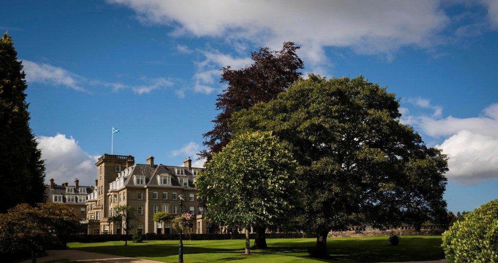 The 'Regal Rounds' package includes an overnight stay at the iconic Gleneagles Hotel.