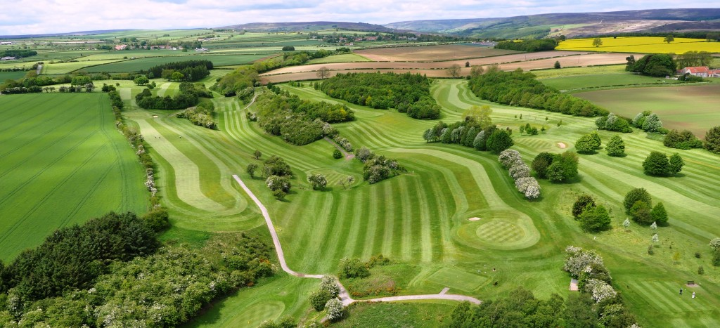 Aerial Image of Kirkbymoorside Golf Club