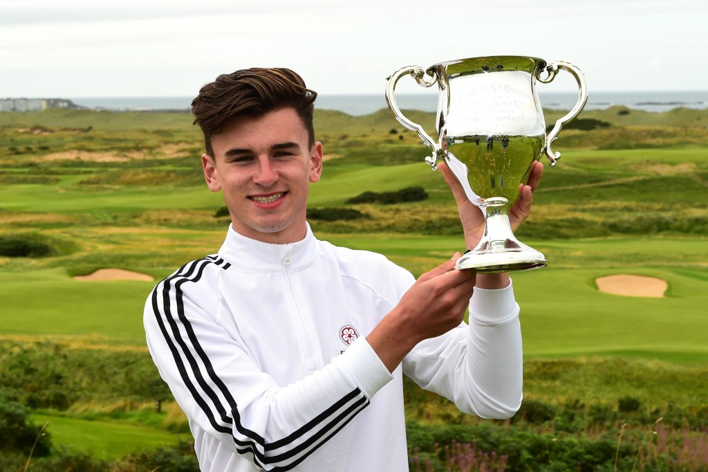 Stoke Park Conor Gough is the youngest member of the GB&I Walker Cup squad named this week. Picture courtesy The R&A