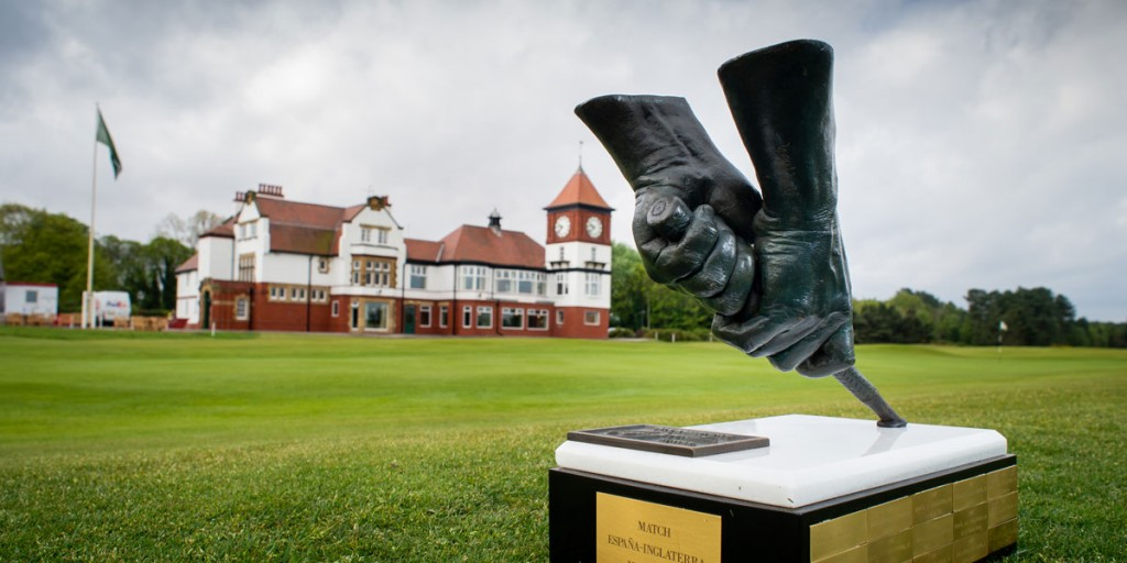 England and Spain will compete for the Seve Ballesteros Trophy in the biennial international match at Formby this weekend. Picture by LEADERBOARD PHOTOGRAPHY