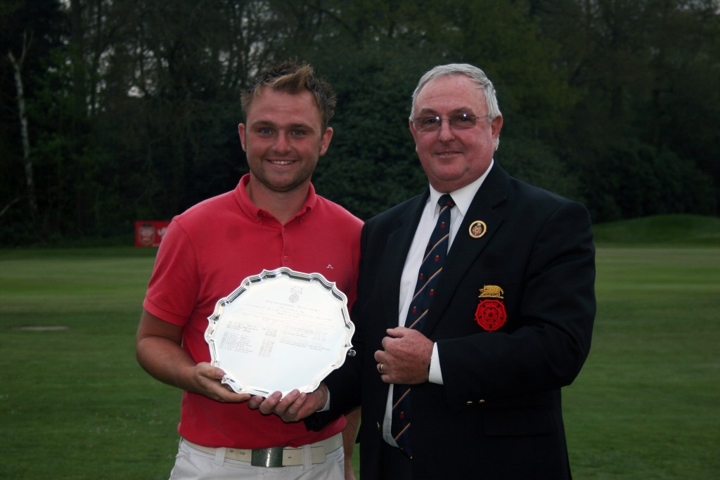 Andrew Sullivan (left) the 2011 Hampshire Salver winner. Picture by ANDREW GRIFFIN / AMG Pictures
