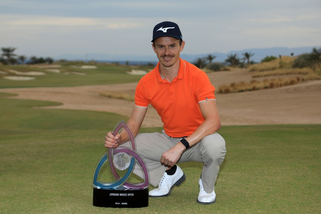Challenge Tour winner Daan Huizing who held off Ladies European Tour star Meghan MacLaren to claim the first-ever Jordan Mixed Open. Picture by GETTY IMAGES