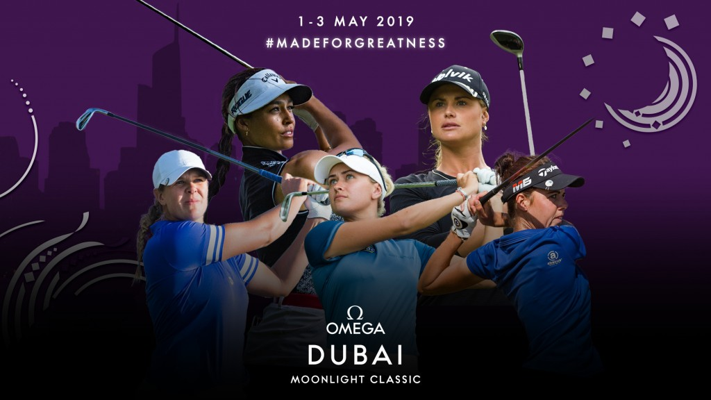 The Ladies European Tour will break new ground with the first professional event under the lights at Dubai's Emirates Golf Club, in early May