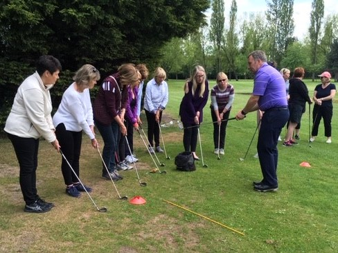New players getting to grips with the basics of golf at Widnes Golf Club
