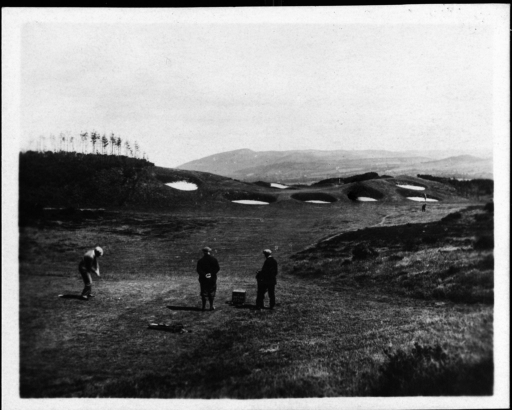 The 14th hole of The King's Course at Gleneagles, circa 1920s