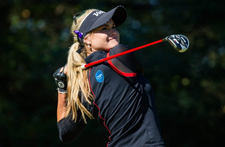 Scotland's Carly Booth will be hoping to boost her Solheim Cup hopes at this week's Jabra Ladies Open. Picture by TRISTAN JONES