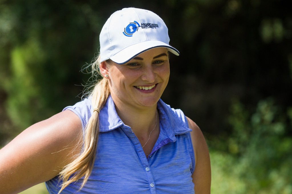 Chelmsford's Charlotte Thompson shot 66 in the the first round of the inaugural La Reserva de Sotogrande Invitational. Picture by TRISTAN JONES
