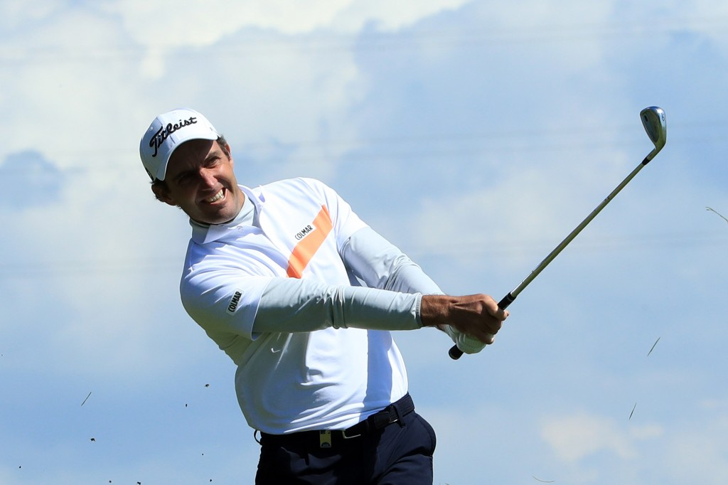 Edoardo Molinari shot a five-under 66 at Himmerland Golf & Spa Resort to share the first-round lead Made In Denmark tournament with Alejandro Canizares, Paul Waring, Tom Murray and Matthew Southgate. Picture by GETTY IMAGES