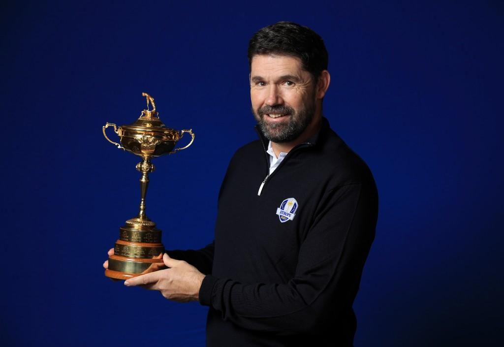 Europe's 2021 Ryder Cup captain Padraig Harrington accidentally named Luke Donald as a vice-captain