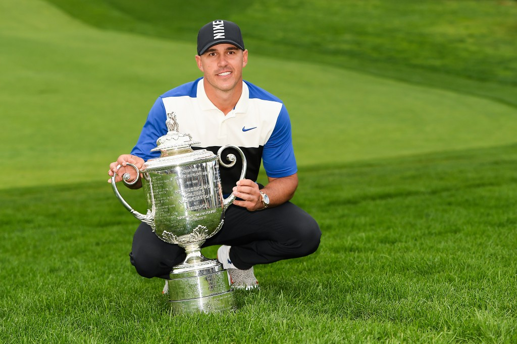 Brooks Koepka became the first player to win four majors in less than two years with a wire-to-wire victory at Bethpage Black. Picture by GETTY IMAGES