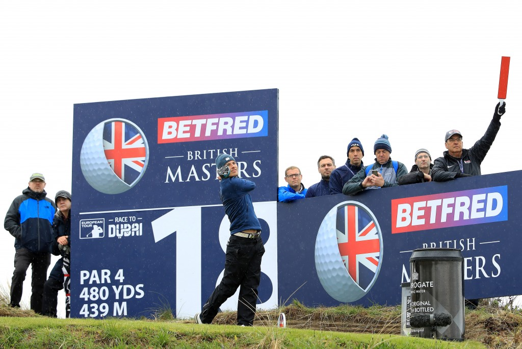 Royal Liverpool's Matthew Jordan made the most of a late invite to the Betfred British Masters with a superb opening round of 63 at Hillside – close to his Hoylake home. Picture by GETTY IMAGES.