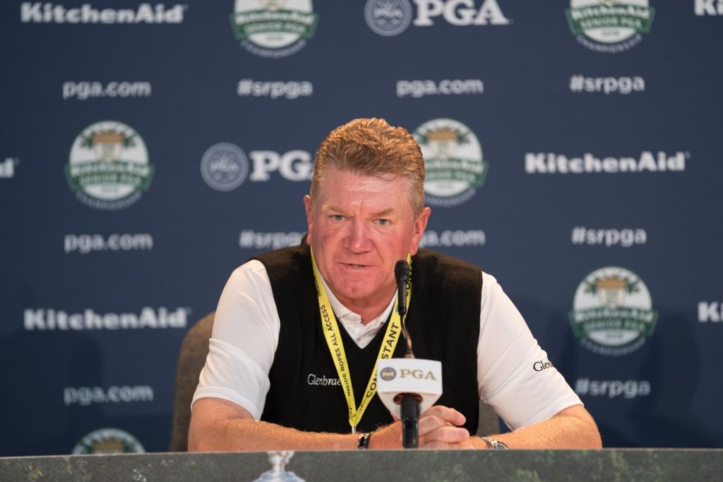 Paul Broadhurst who will defend his KitchenAid PGA Seniors Championship title at Oak Hill, in New York, this week. Picture by GETTY IMAGES