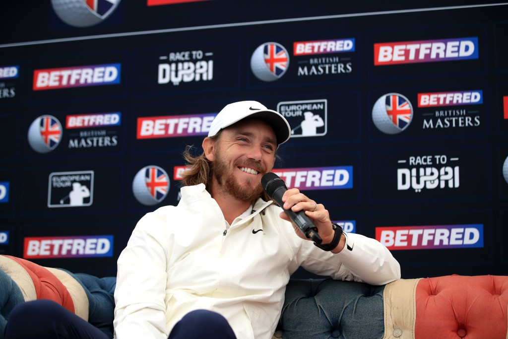 Tommy Fleetwood admitted to feeling a bit nervous when he arrived at Hillside GC as the host of the Betfred British Masters. Picture by GETTY IMAGES
