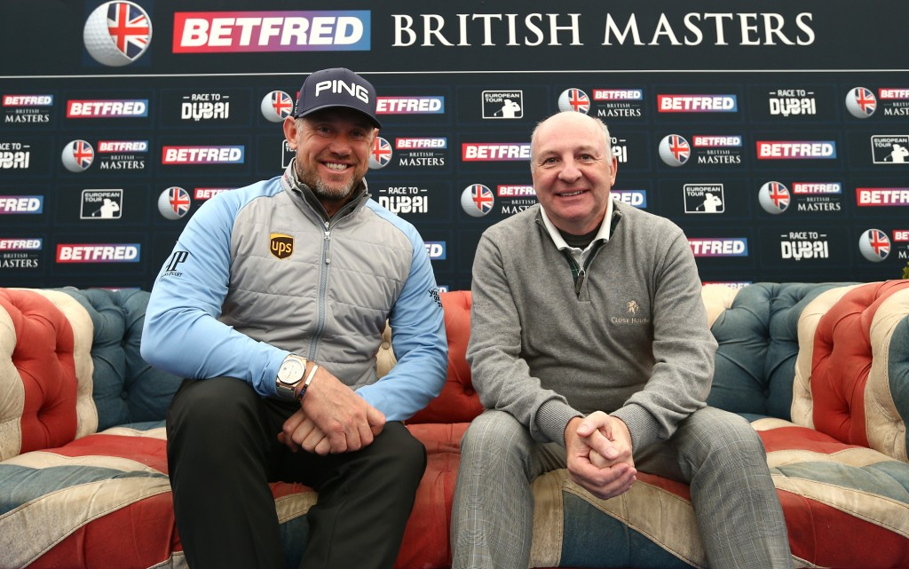 Lee Westwood and Close House owner Graham Wylie