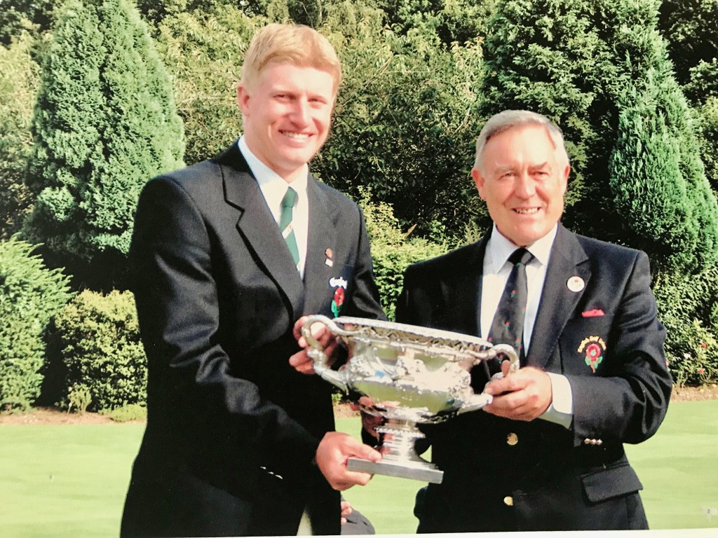 Mere Golf Club's Richard Finch, winner of the 2002 English Amateur Championship at Walton Heath, is through to Final Qualifying for The Open, after finishing third at Fairhaven.