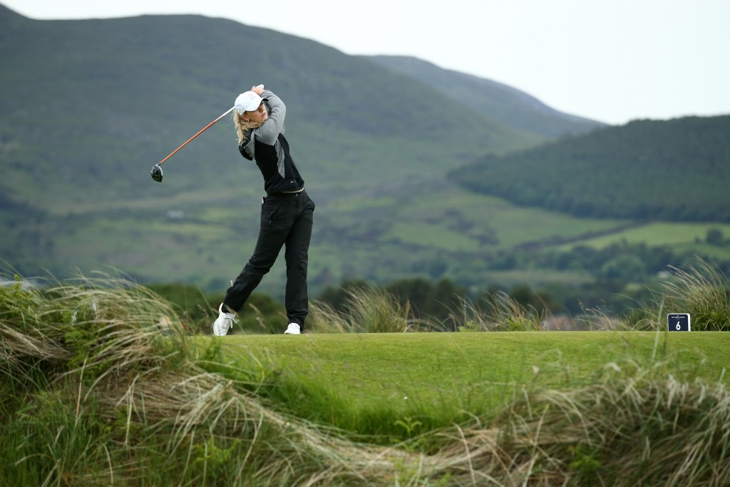 Berkhamsted's Hannah Screen was the leading qualifier in the British Women's Amateur Championship at Royal County Down after shooting scores of 69 and 70 to lead on seven-under, with only three players under par. Picture by The R&A / GETTY IMAGES