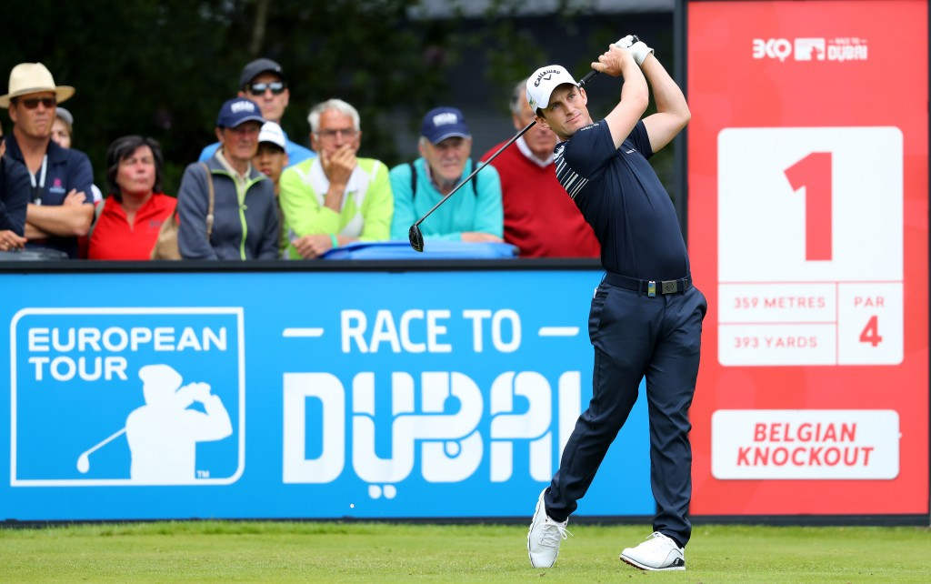 Northumberland's Chris Paisley fired a second successive 65 to top the leaderboard to secure top seed in the Belgian Knockout. Picture by GETTY IMAGES