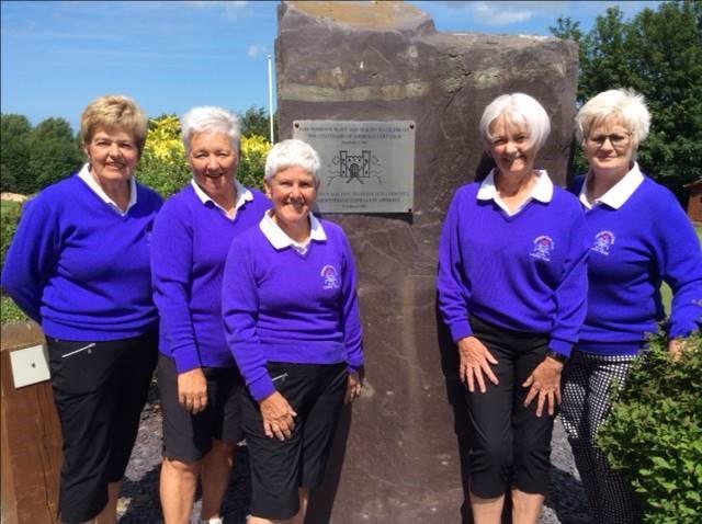 The team representing Abergele Golf Club - Pat Runcie, Jill Tudor, Shirley Brown, Janis Langdon, Lyn Reid and Lauren Howarth. (Not in the photograph).