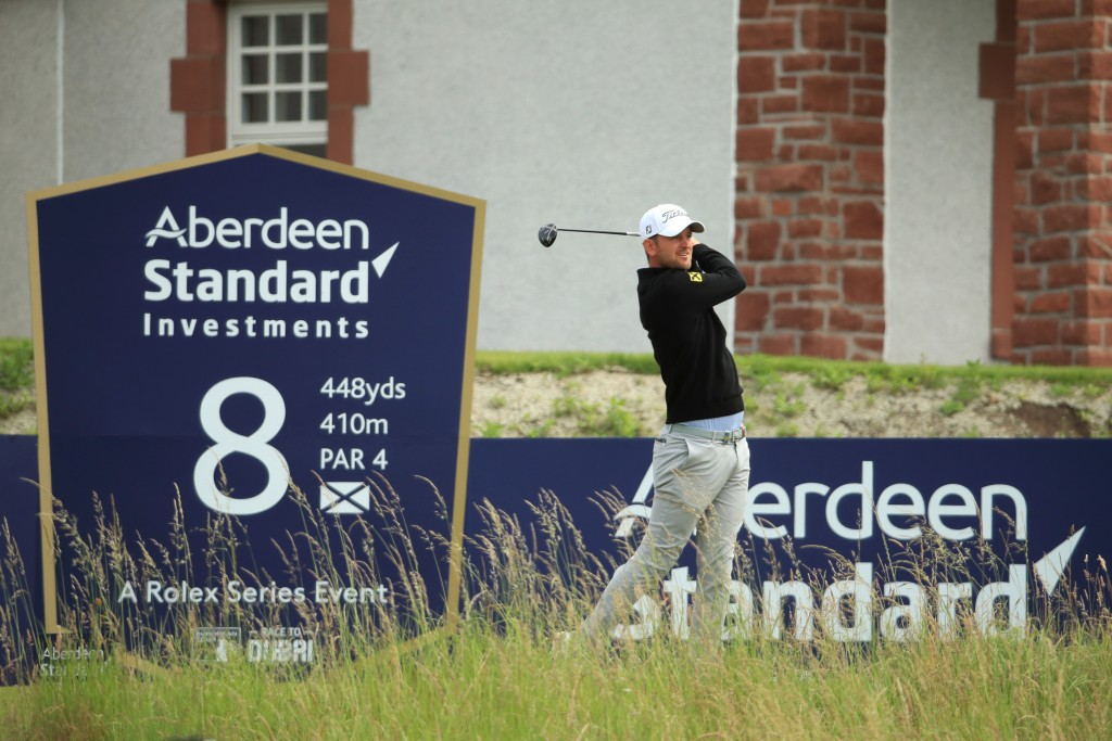 Bern Wiesberger European Tour Scottish Open