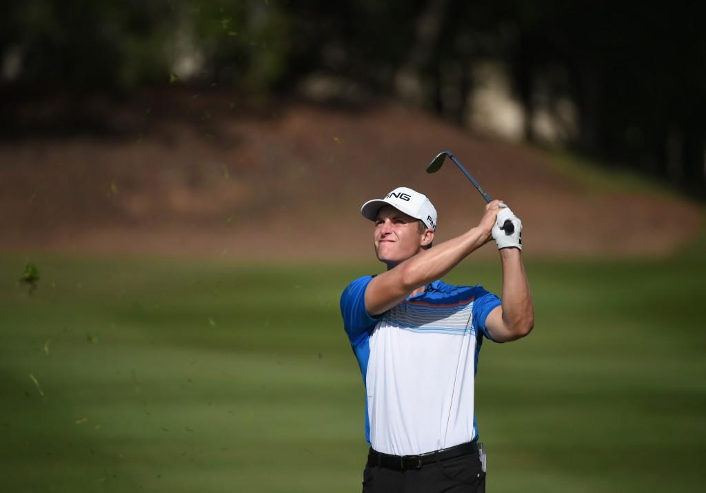 Scottish golfer Calum Hill
